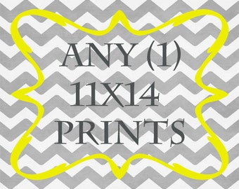 Any (1) 11x14 Print - ANY prints from Rizzle And Rugee