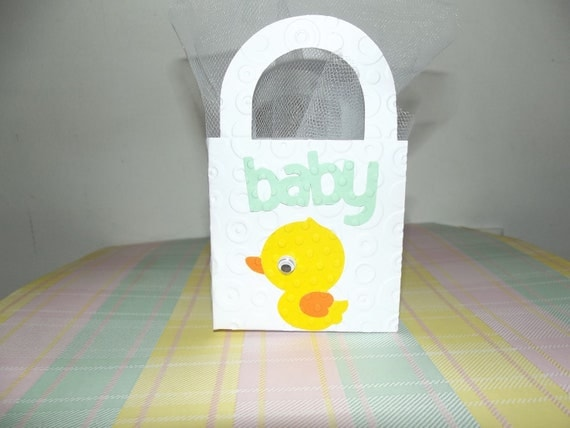 Ducky Baby Shower Party Favor Bags