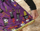 how to make a skeleton of a skirt