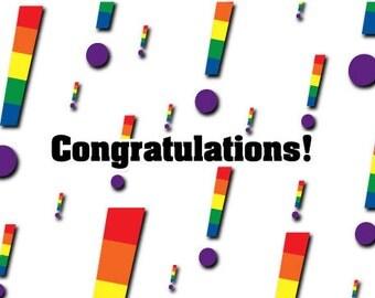 Congratulations-gay hoorays