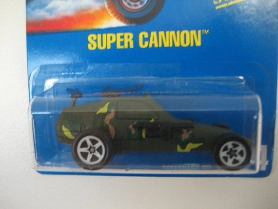 Mattel Hot Wheels Super Cannon