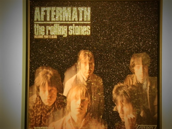 Glittered Record Album - The Rolling Stones - Aftermath