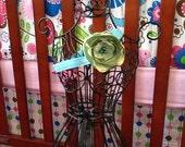 Barefoot sandal & Flower Headband set