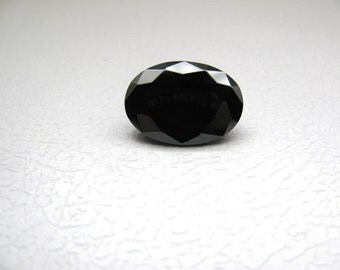 Black Cubic Zirconia AAA 18x13mm