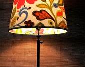 Peek-A-Boo Lamp Shade: Contemporary Flowers, Medium