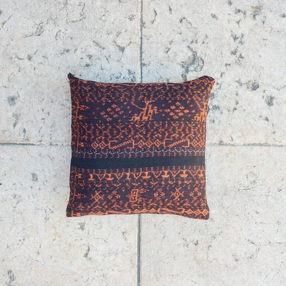 16x16 inch TRIBAL IKAT Throw PILLOW Cover