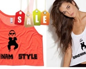 Gangnam Style Cropped Tank Top (Preorder)