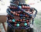 Custom Simple Stretch Beaded Bracelets