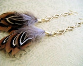 Feather and Spice Earrings