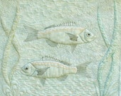 Quilted Fish Wall Hanging
