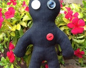 "Art Doll Handmade ""Starry Knight"" Plush Doll/ Pin cushion"