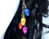 Mini Glitter Holiday Lights Multicolor