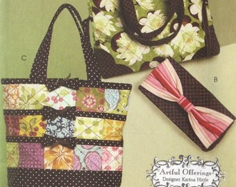 Pattern-Beautiful purse, handbag, tote & clutch- Brand new pattern