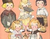 Dolly Dingle Paper Dolls - World Traveler - Grace Drayton - Editerrier