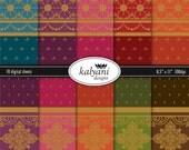Sari Ornamental Paper Collection II - Printable Digital Sheets
