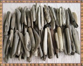 Driftwood pieces, driftwood straight pieces, 100 drift wood pieces,wedding decor, crafting , framing, wreaths, driftwood mirrors