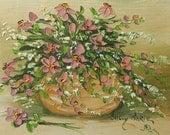 Mauve Petal Floral