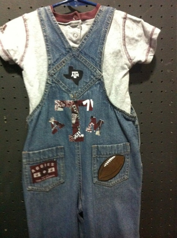 A&M Football Overall Set