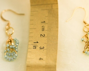 Glass Seed Bead Earrings