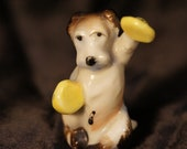 Tiny Japan Vintage Dog with Cymbals (RESERVED)