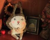 Molly- Handmade Art Doll Rabbit