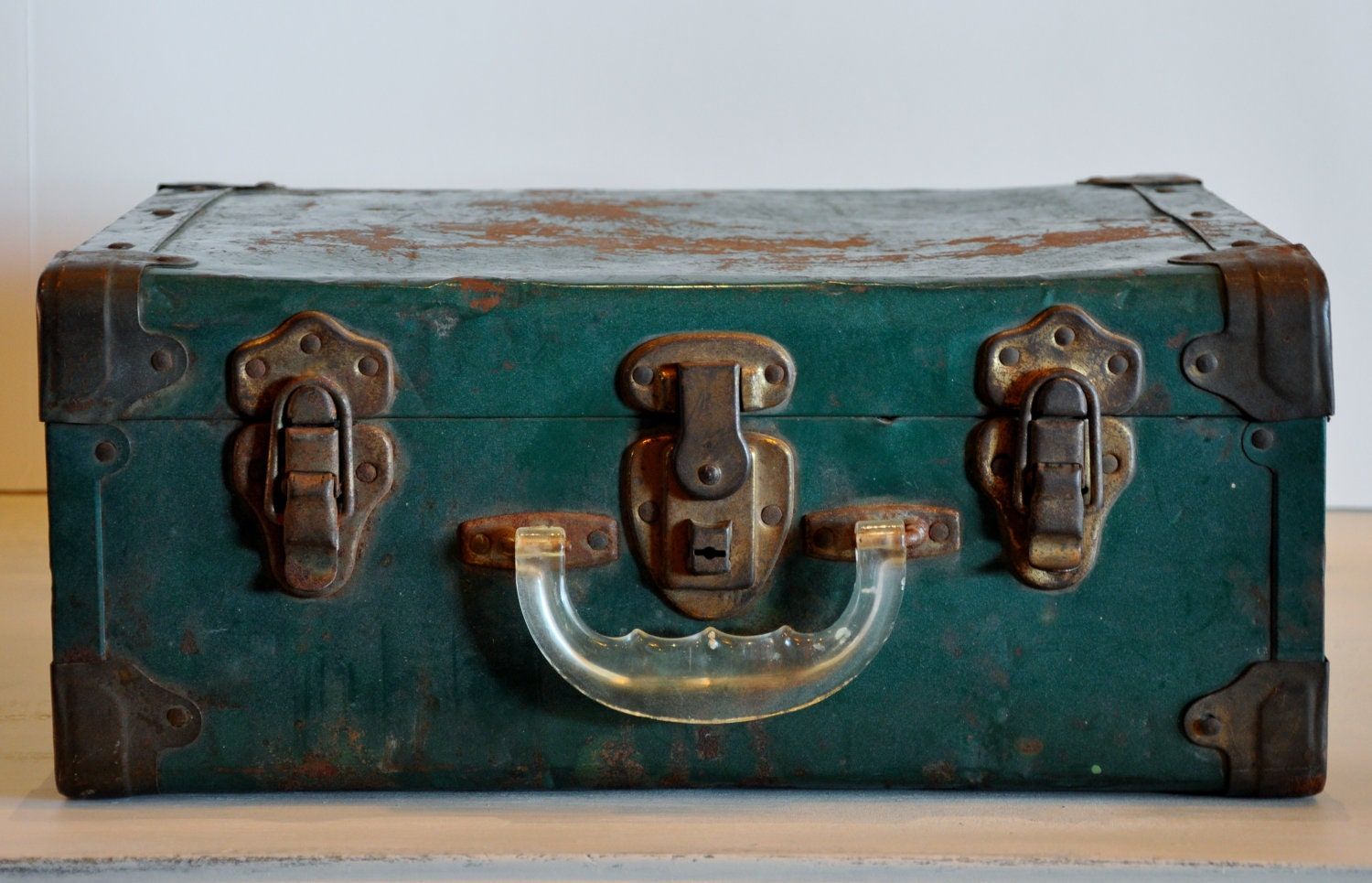 Vintage Metal Suitcase | Luggage And Suitcases