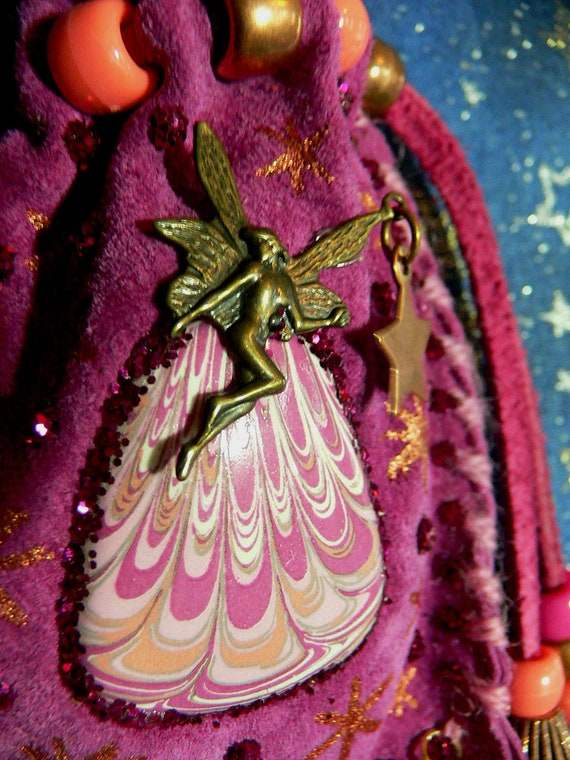 Fairy Tale Fuchsia Magical Spell Pouch