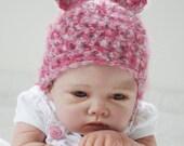 Newborn Baby  Hat  Teddy Bear Photo Prop Hat