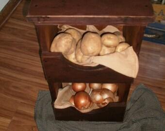 Potato and onion Bin  / storage bin