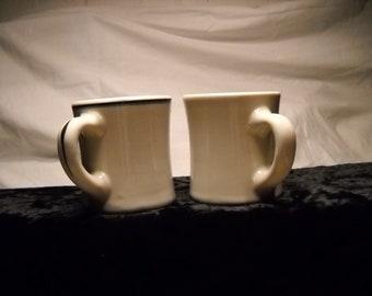 Vintage Restaurant Mugs(2)