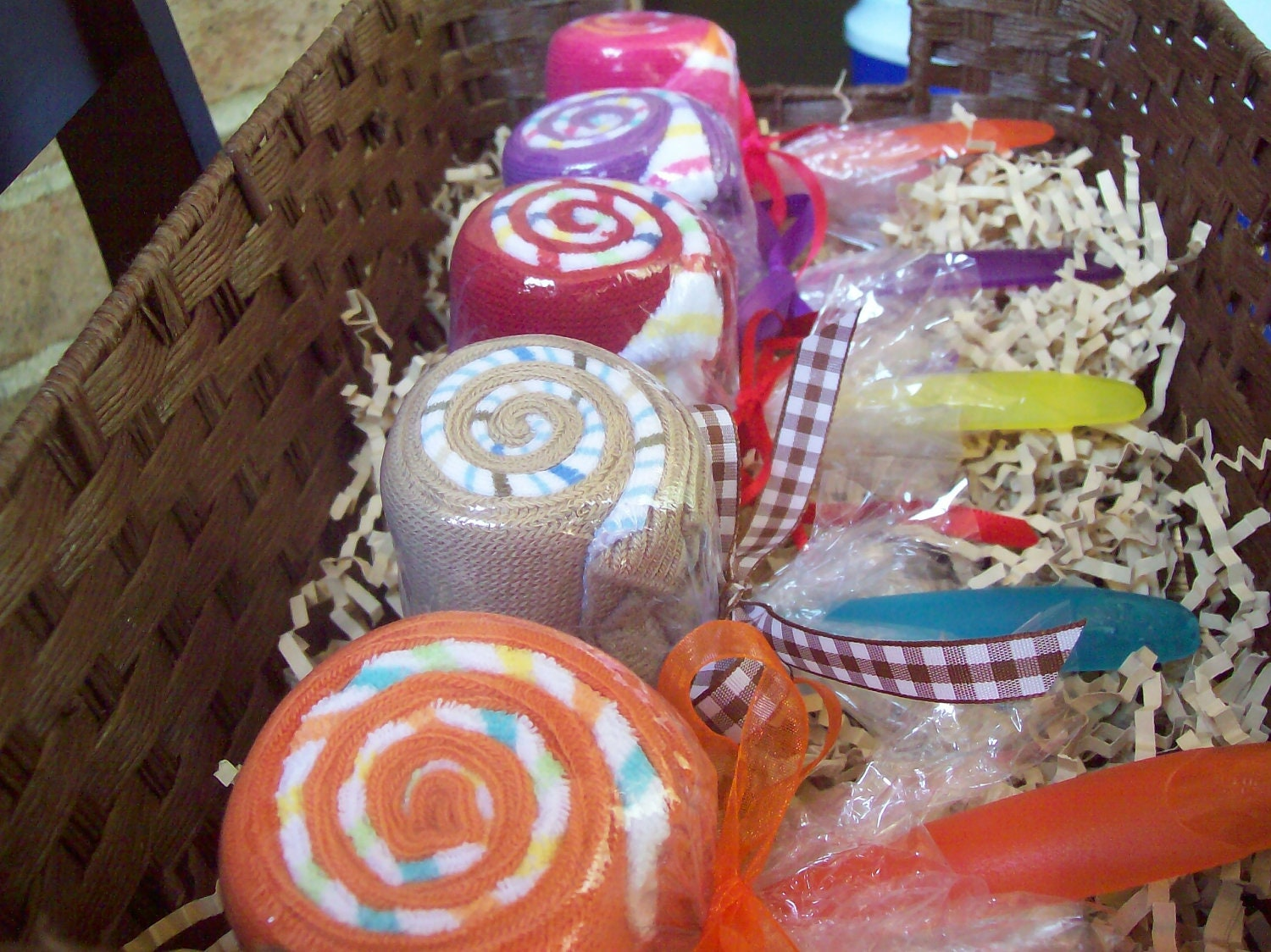 Popular items for wash cloth lollipops on Etsy