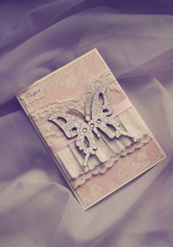 Butterfly Beautiful Card/Passport Cover