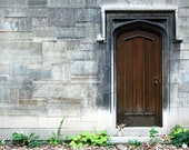 Custom Order 1 Stone Wall and Wooden Door Photograph
