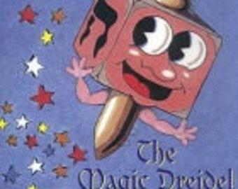 The Magic Dreidel (tells the story of Hanukkah)-personalized storybook
