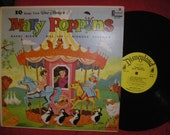 1964 Disneyland Favorite Mary Poppins Record  Ten Songs from Mary Poppins Album  33rpm Vinyl