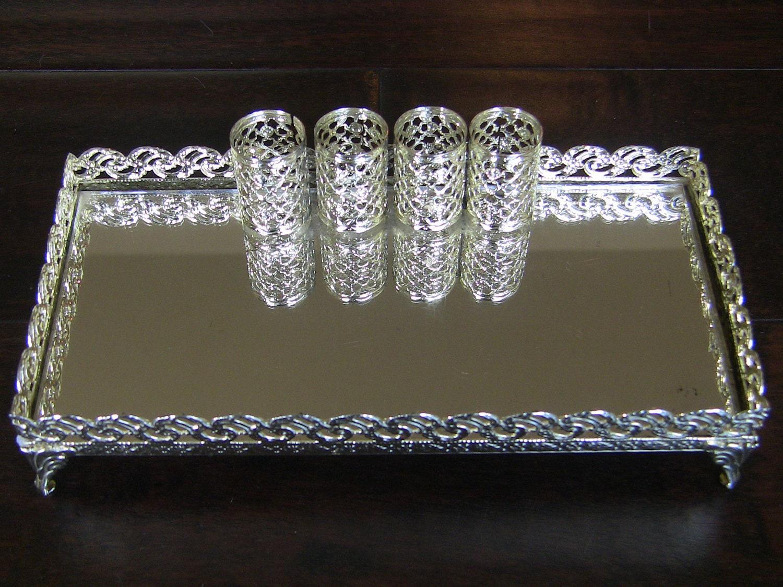 Ornate bathroom vanity - Vanity Tray Mirror Vintage Bedroom Dresser Vanity Lipstick