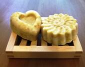 organic marigold-shea butter soap