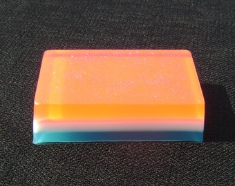 4th of July Soap, Handmade, Glycerin Soap