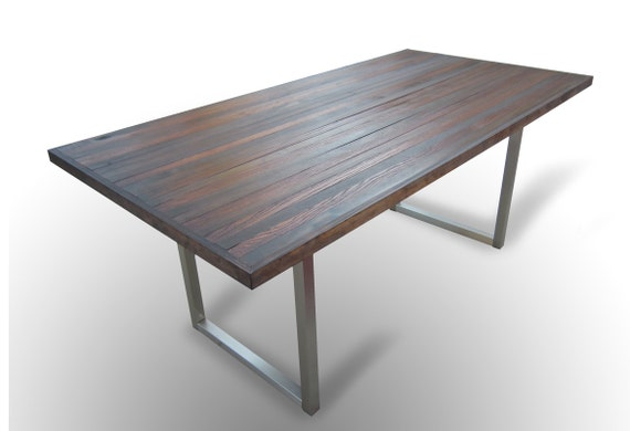 Contemporary Industrial Dining Table 36 x 72 For : il570xN3673862657kh2 from www.etsy.com size 570 x 390 jpeg 25kB