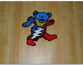 Dancing Bear Patch with Lightning Bolt