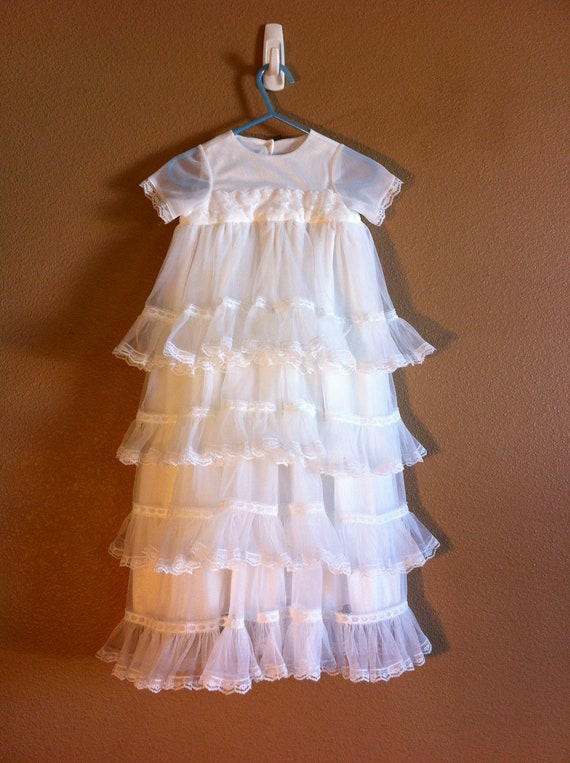 Items similar to Baby Blessing or Christening Dress on Etsy