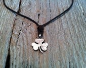 Niall Horan's One Direction Lucky Irish Three-Leaf Clover Shamrock Necklace