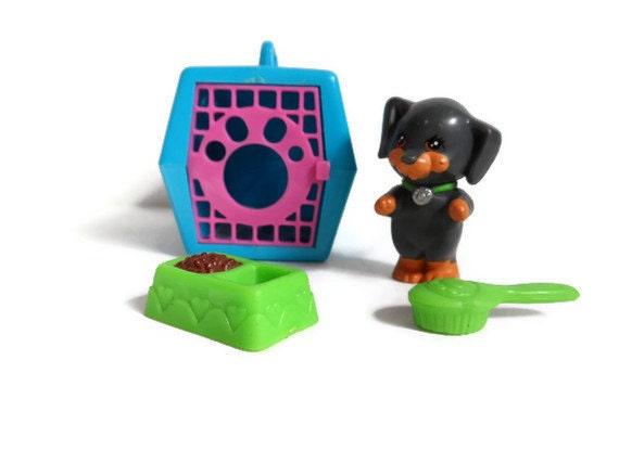 1990 S Toys : S vintage littlest pet shop toy puppy