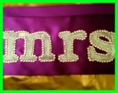 Bachelorette Sash - Custom Rhinestone Sash for Bachelorettes, Birthdays, Baby Showers, etc.