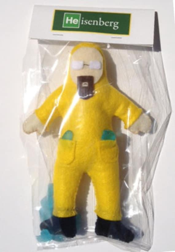 Breaking Bad Inspired Heisenberg Walt Custom Doll Geeky Toy