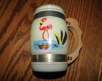 Yellow Siesta Ware Mug Florida  Marineland