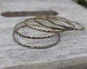 Vintage, 5-set bangles