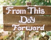 Wedding Vow Sign