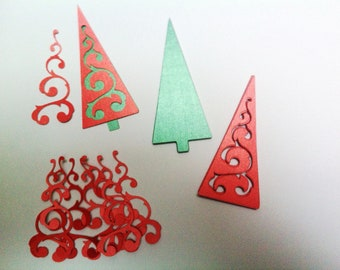 Christmas Tree Embellishments (Set of 10)