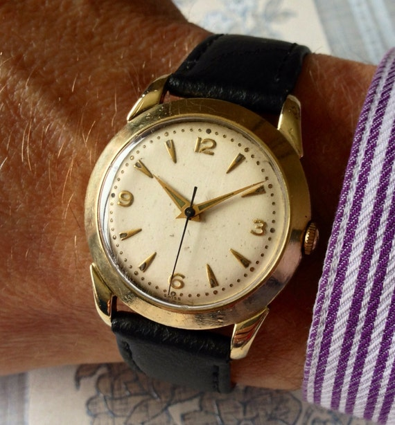 Quality Wittnauer Longines 1950s 17 Jewel Automatic Vintage